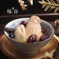灵芝淮山红枣炖鸡汤