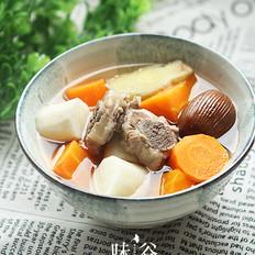 红萝卜排骨汤