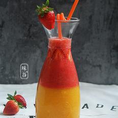 芒果双色果汁