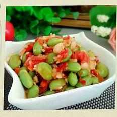 剁椒腌青豆