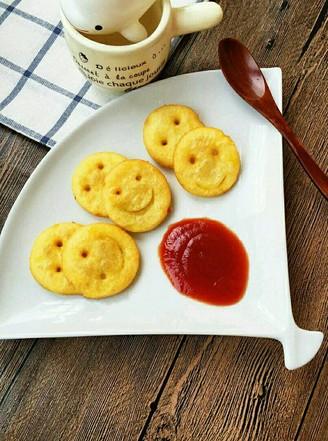 土豆笑脸饼的做法