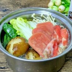 暖冬日式料理~寿喜锅