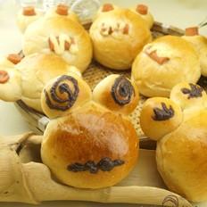 小青蛙面包