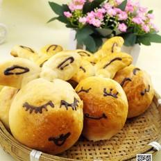 小兔卖萌面包