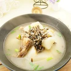 龙骨山药菰米汤