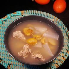 萝卜栗子龙骨汤