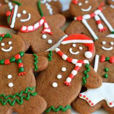 圣诞节姜饼人饼干