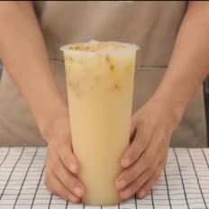 奈雪的茶霸气百香多多的做法——小兔奔跑奶茶教程