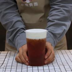 一点点奶茶红茶玛奇朵的做法——小兔奔跑奶茶教程