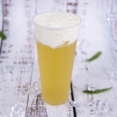 芝士茉莉绿茶的做法——小兔奔跑奶茶培训
