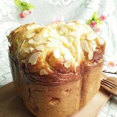 酸奶苹果卷面包