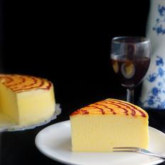 拉花轻乳酪蛋糕