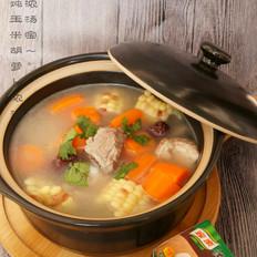 #亲情炖#家乐炖排骨汤的做法