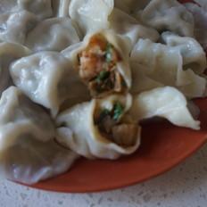 春分韭菜虾仁猪肉饺子