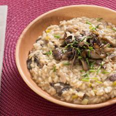 轻食·牛肝菌与混合菌菇意大利调味饭