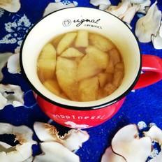 海底椰片苹果水