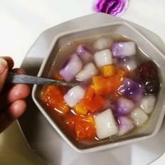 木瓜煮夹心丸的做法