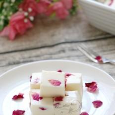 玫瑰牛奶小方