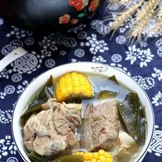海带玉米筒骨汤