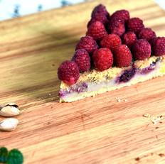 树莓坚果挞