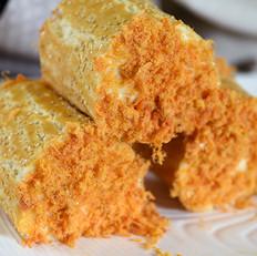 德普烤箱食谱——肉松面包卷