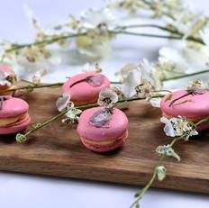 樱花马卡龙—德普烘焙食谱