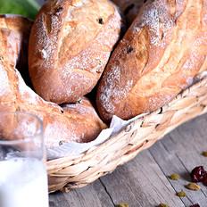水果麦纤维软欧面包