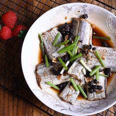 豆豉蒸带鱼