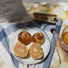 蜂蜜脆底面包