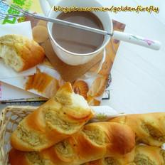 蒜蓉奶酪软面包棍的做法