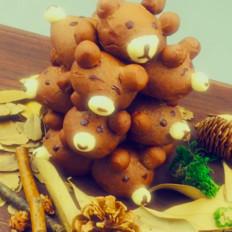 可爱小熊面包树