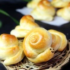 中种小蜗牛面包