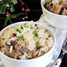 排骨香米饭