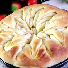 千层花朵面包