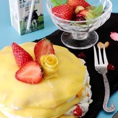 """夏日""""网红""""甜点---千层蛋糕"""