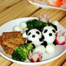 熊猫猪扒便当