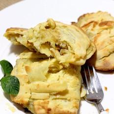 酥皮香蕉派