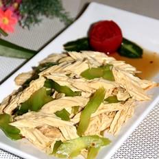 凉拌腐竹芹菜