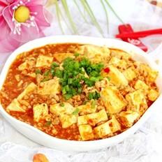肉末红烧豆腐