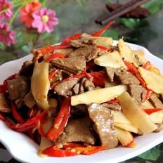 泡姜炒猪肝