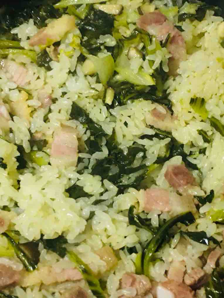 香菇咸肉菜饭