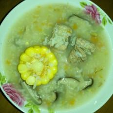 排骨香菇玉米胡萝卜粥