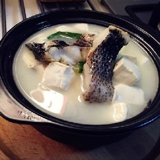 潮白黑鱼搭配滑嫩豆腐