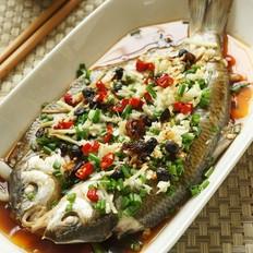 香辣豉油蒸瓦氏华子鱼