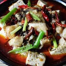 麻辣水煮清江鱼豆腐