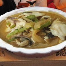 榨菜清炒潮白黑鱼片