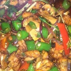 香菇小炒鸡