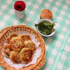 田园土豆蔬菜饼