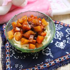 土豆胡萝卜酱拌面