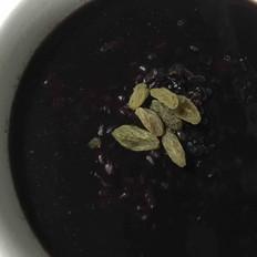陈皮黑米红豆粥